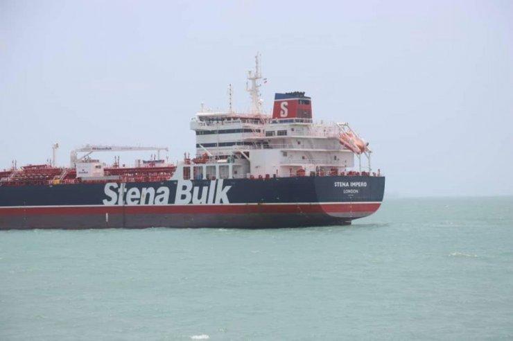 İran'ın alıkoyduğu İngiliz petrol tankeri mürettebatının milliyetleri açıklandı