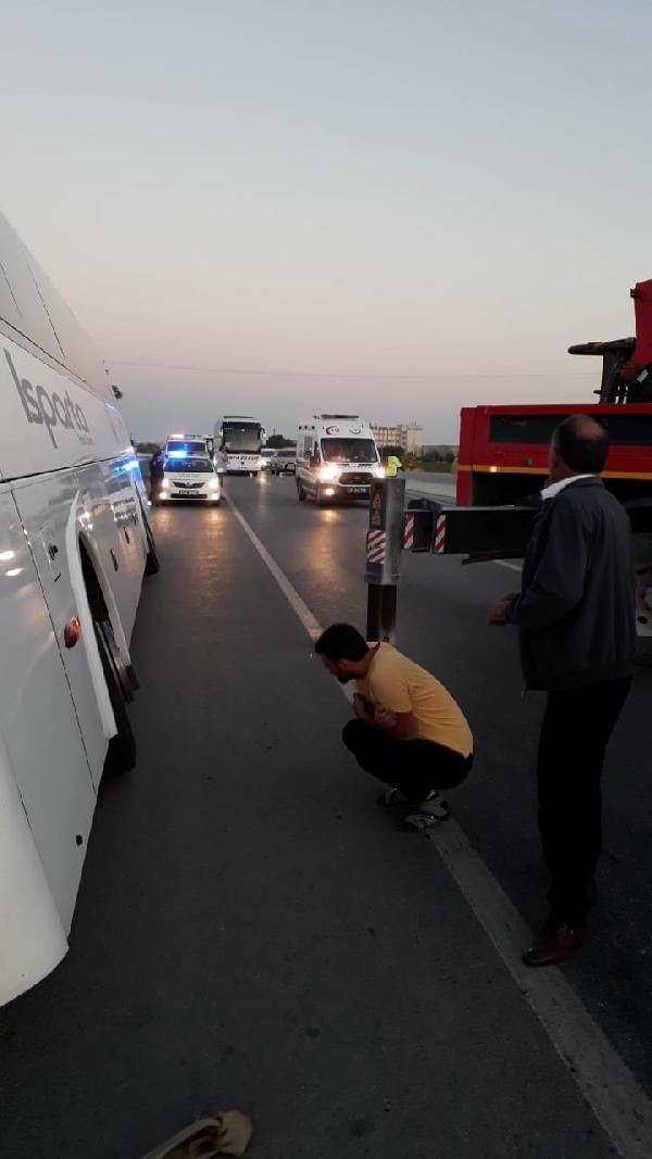 Konya'da vergi müfettişi, askerden dönerken kazada öldü
