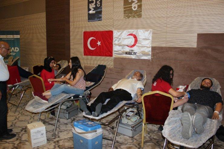 MÜSİAD, kan bağışı kampanyası düzenledi