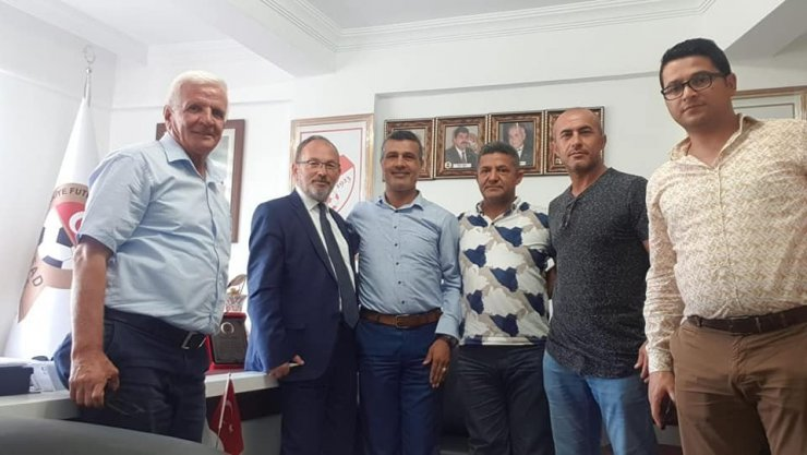Belediye Kütahyaspor Kulübü yönetiminden destek ve nezaket ziyaretleri