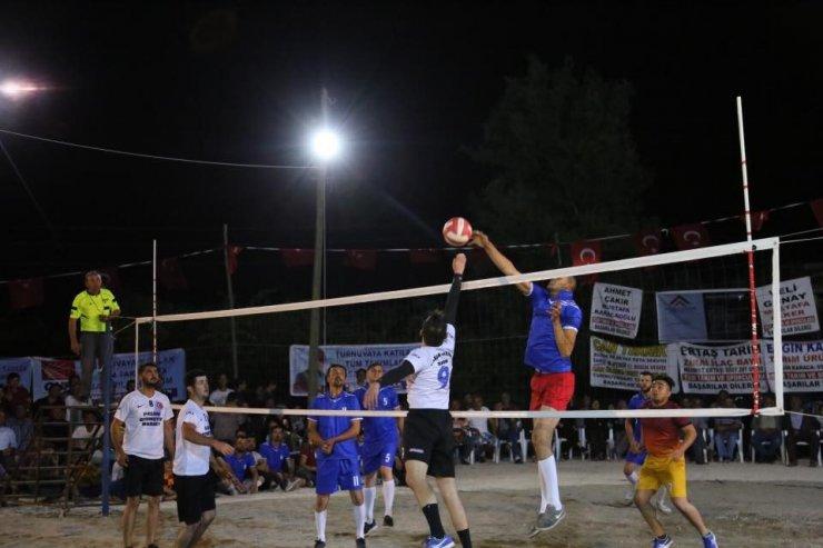 Yayla Voleybol Turnuvası tamamlandı