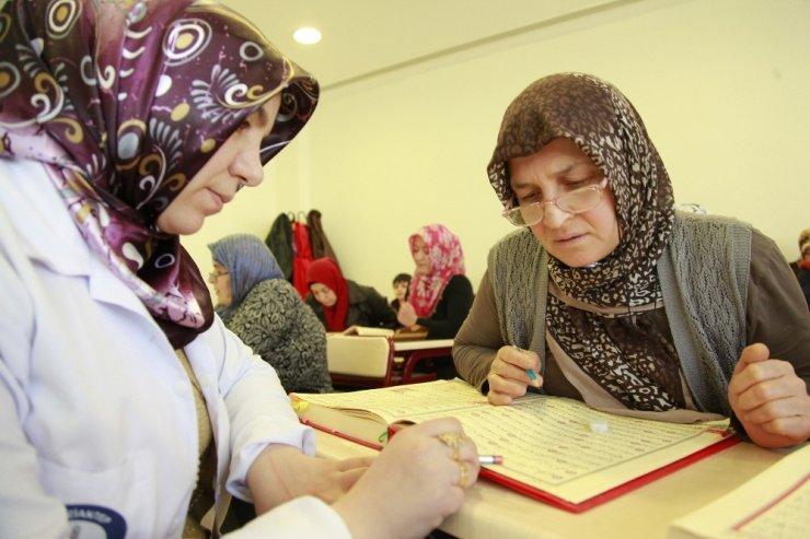 Bayanlardan Özgecan Kültür Merkezi'ne yoğun ilgi