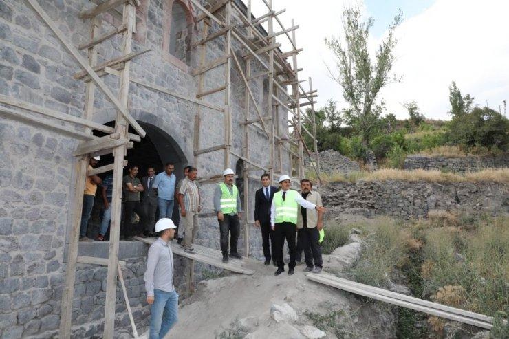 Beylerbeyi Sarayı'nın restorasyon çalışmaları sürüyor