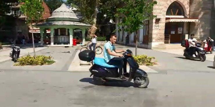 Kaldırımda seyreden bisiklet ve motosikletlere el konulacak