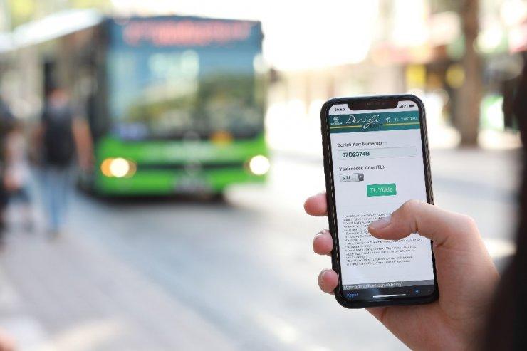 Denizli'de toplu ulaşımda online ödeme kolaylığı