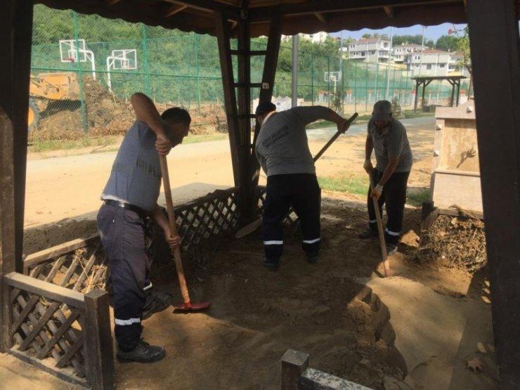 Düzce Belediyesinin Akçakoca'ya desteği sürüyor