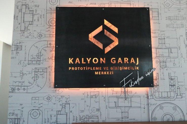 Kalyon Garaj Prototipleme ve Girişimcilik merkezi faaliyete Geçti