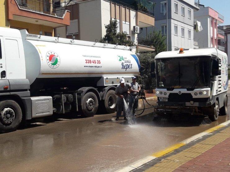 Kepez 'in sokakları tertemiz