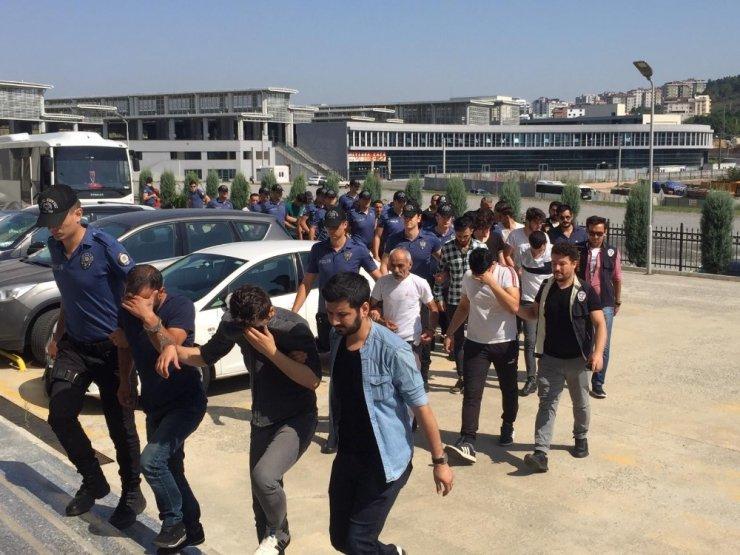 25 kişilik kredi dolandırıcılığı çetesinden 12'si tutuklandı