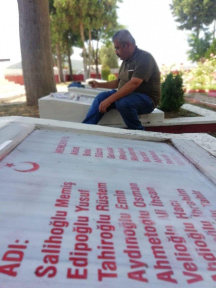 Büyükşehir Belediyesi, Çamalan Şehitliğini yeniledi