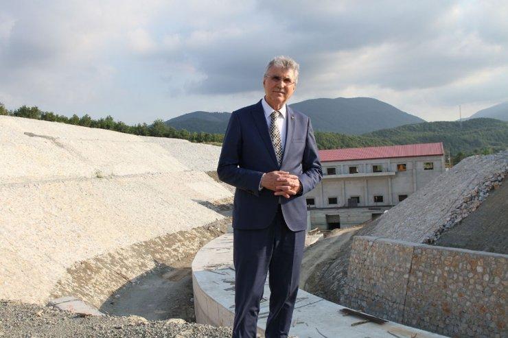 """Başkan Yüce: """"Akçay Barajı doğaya zarar vermeyecek"""""""