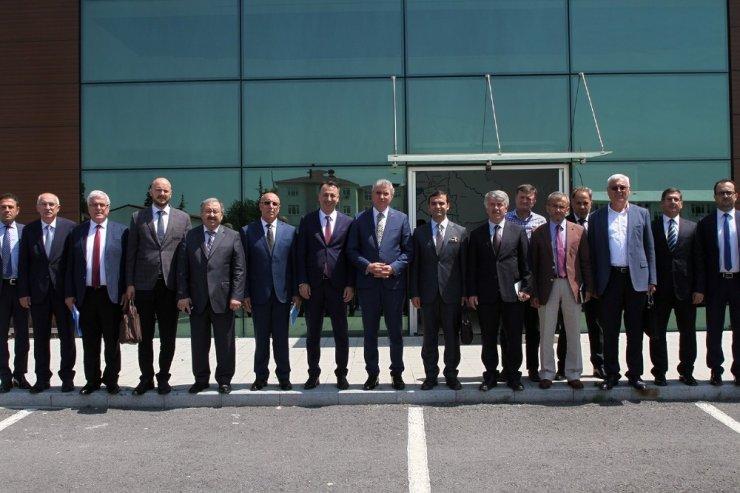 """Başkan Yüce: """"Dünya ve Avrupa Birliği standartlarında projeleri şehrimize kazandıracağız"""""""