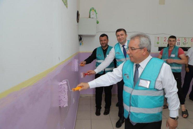 Çarşamba'da okulları eğitim-öğretim dönemine hazırlanıyor