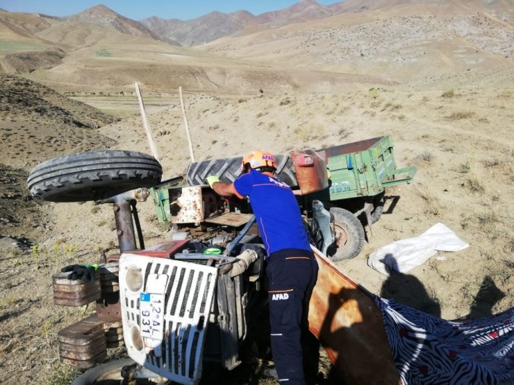 Van'da traktör kazası: 1 ölü