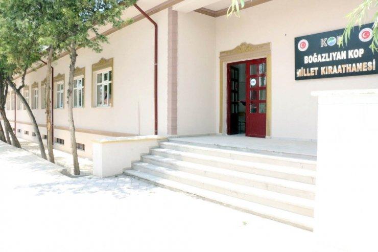 Millet Kıraathanesi açılış için gün sayıyor