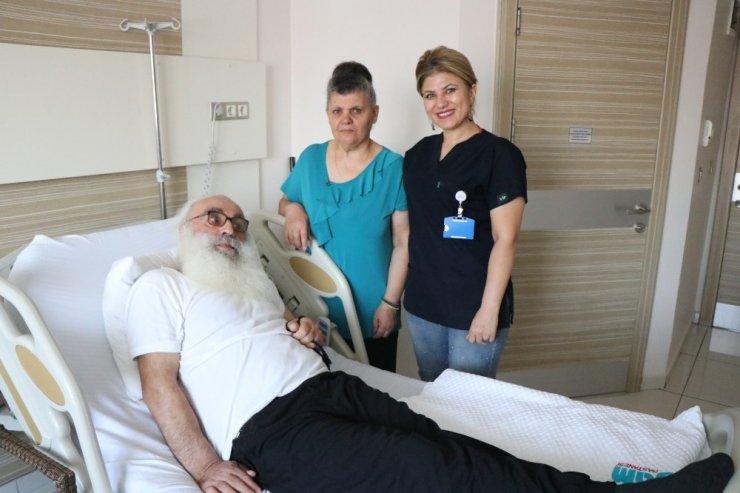 Kapadokya'da rahatsızlanan papaz, Kayseri'de sağlığına kavuştu