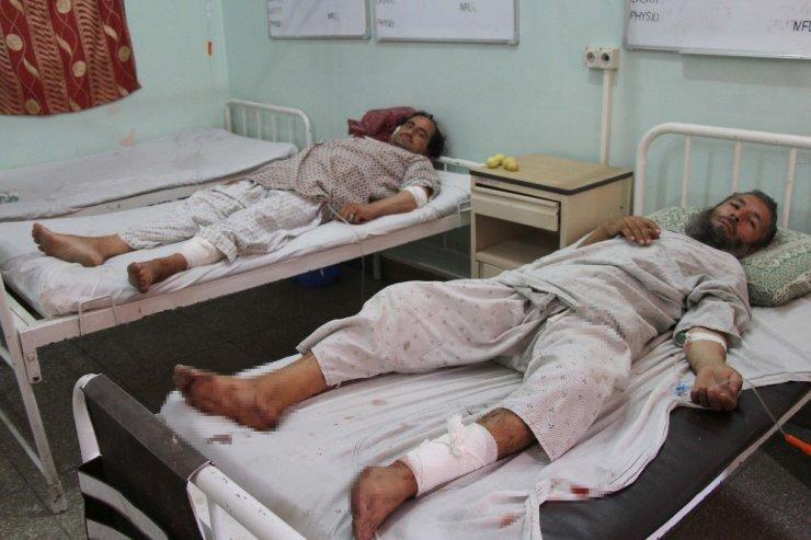 Afganistan'da otobüse bombalı saldırı: 34 ölü