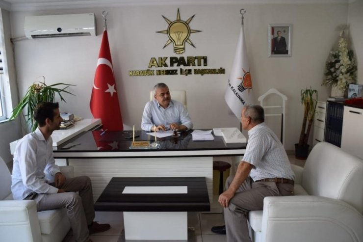 AK Parti teşkilatı vatandaşların istek ve taleplerini dinledi