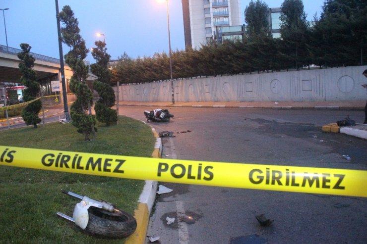 16 yaşındaki gencin kullandığı motosiklet kaza yaptı: 1 ölü 1 yaralı