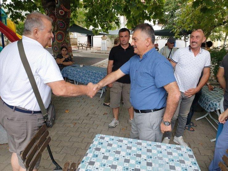"""Balıkesir Valisi Yazıcı """"Vatandaşlarımızı memnun etmek bizim görevimiz"""""""