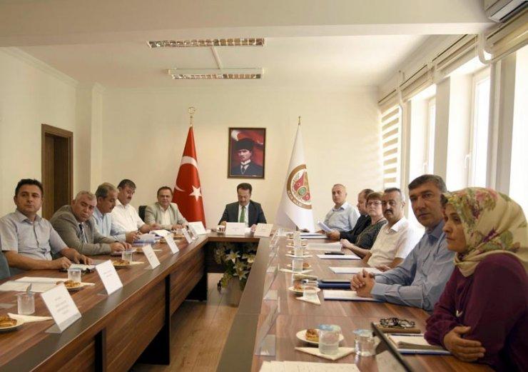 Bilecik İl İstihdam ve Mesleki Eğitim Kurulu toplandı