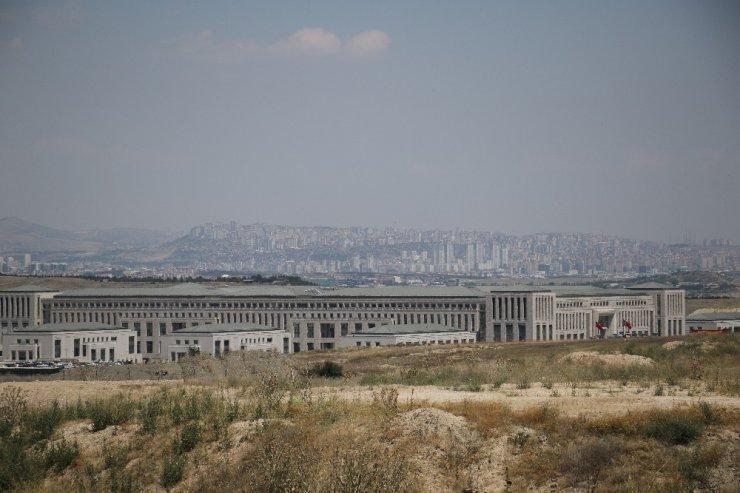 Cumhurbaşkanı Erdoğan, MİT'in yeni kalesine ziyarette bulundu
