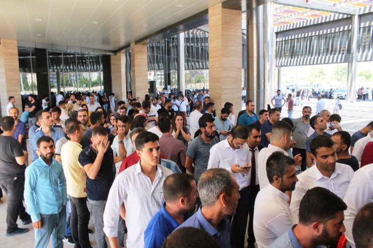 Kayapınar Belediyesi'nin 17 kişilik işçi alımına 670 kişi başvurdu