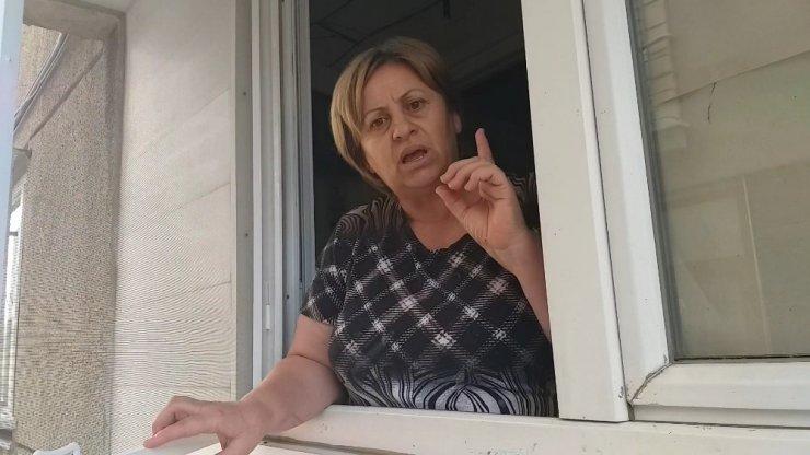 Mama kabına beton döktüler