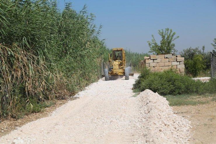 Haliliye Belediyesinden kırsalda yol seferberliği