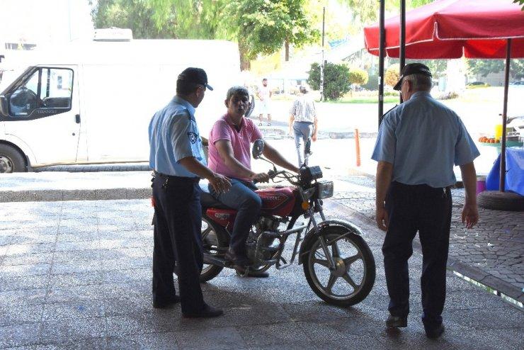 İncirliova sevgi yolunda motosiklet denetimi sıklaştırıldı