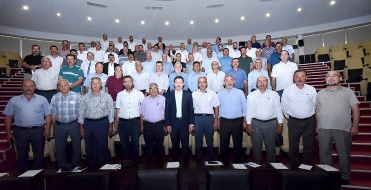 """Başkan Kılca: """"Belediye ile muhtar işbirliğinin en güzel örneği Karatay'da"""""""