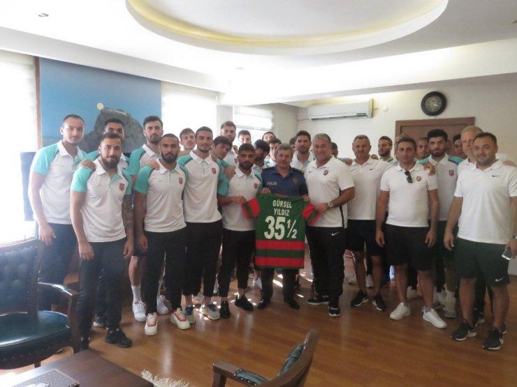 Karşıyaka Spor Kulübü'nden Emniyet Müdürü Yıldız'a ziyaret