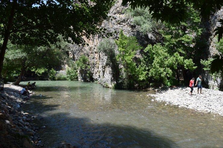 Kayaarası Kanyonu'na ilgi her geçen gün artıyor