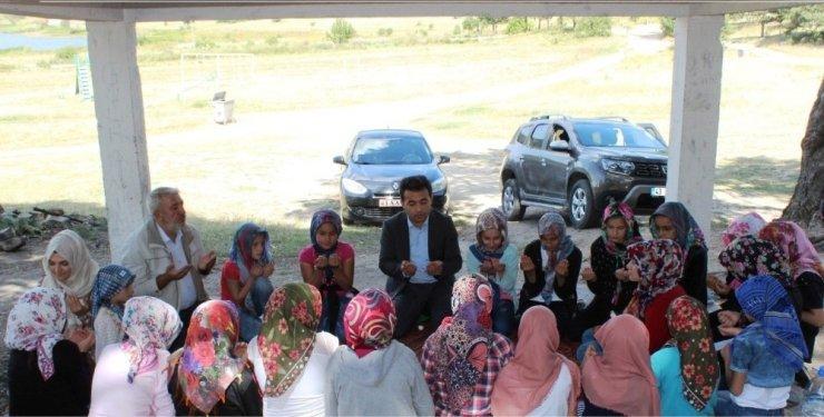 Yaz Kur'an Kursu öğrencileri Gölcük'te