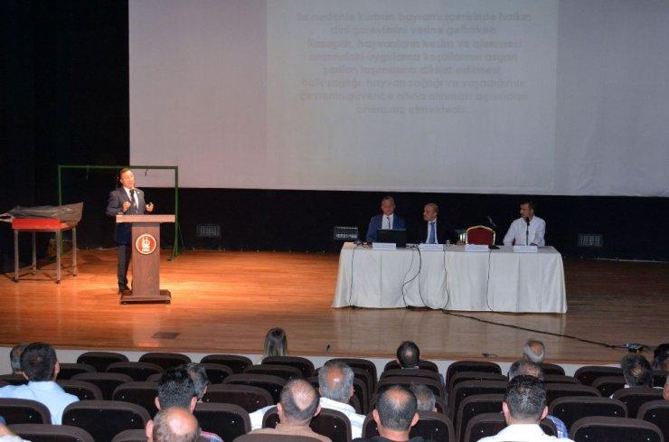 Kurbana özel eğitim semineri düzenlendi