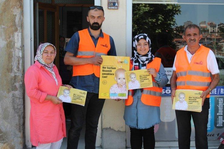 LÖSEV'den Tosya'da bilgilendirme ziyareti