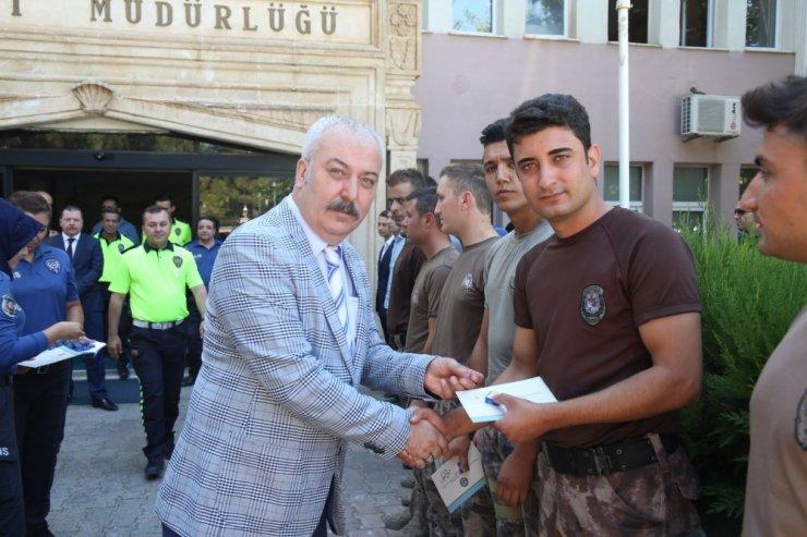 Mardin'de polislerin mutlu günü