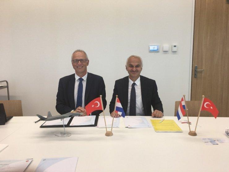 TUSAŞ, Hollanda ile araştırma projeleri, uzay testleri ve üretim kapsamında protokol imzaladı