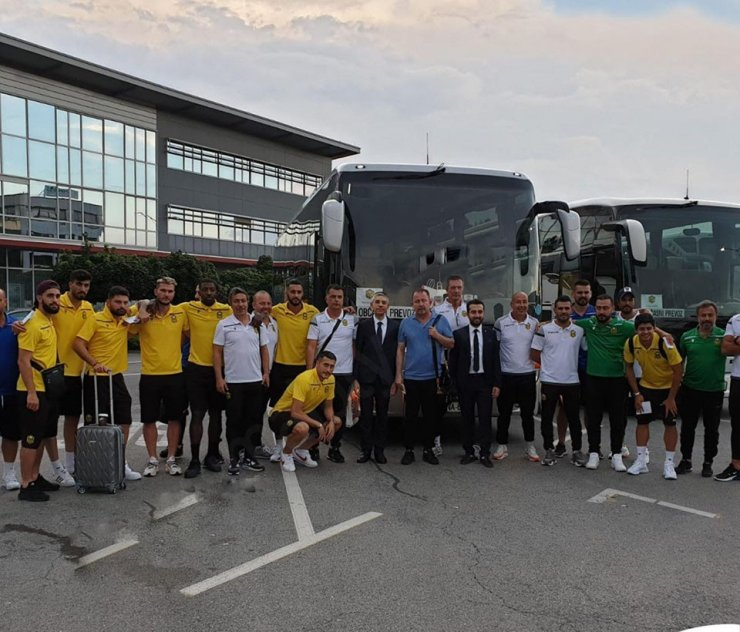 Yeni Malatyaspor tur için Slovenya'da