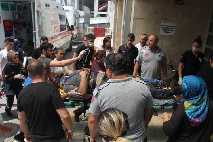 Maden ocağında göçük: 3 işçiyi yaralandı