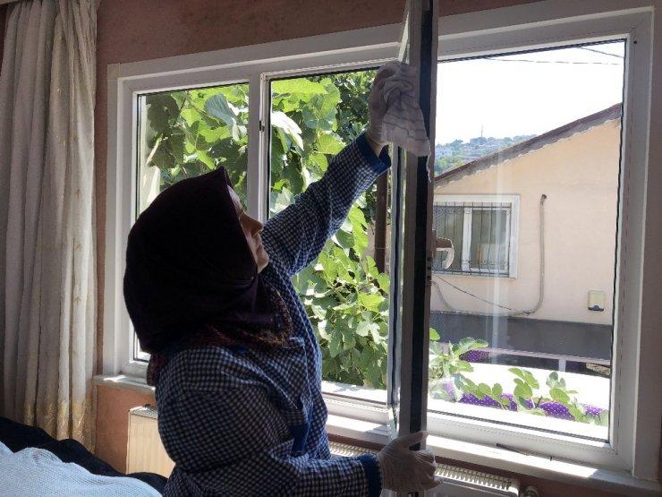 Beykoz'da yaşlıların evleri temiz, yüzleri güleç