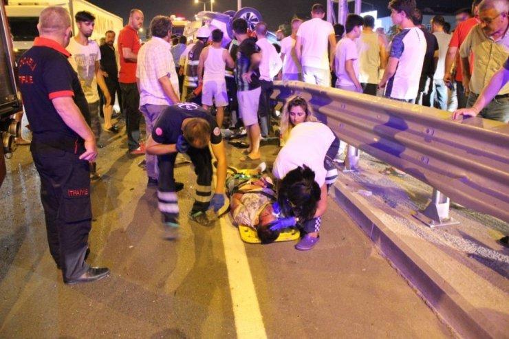 Kocaeli'de meydana gelen kazada ölü ve yaralıların kimlikleri belirlendi