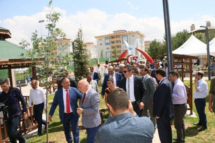 15 Temmuz Şehitler Anıtı ve Adalet Parkı hizmete açıldı ile ilgili görsel sonucu