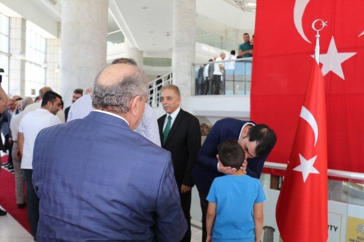 Konya'da geleneksel bayramlaşma programı yapıldı