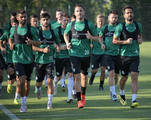 Konyaspor, MKE Ankaragücü maçının hazırlıklarına yeniden başladı