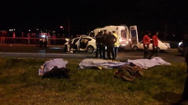 Bakan Soylu: 7 kişinin öldüğü kaza ile ilgili açıklama yaptı