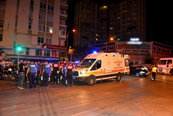 Otomobil ile çarpışan motosikletli Yunus polisi, yaralandı