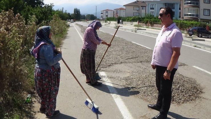 'İnegöl Alası'na polis ve zabıta operasyonu