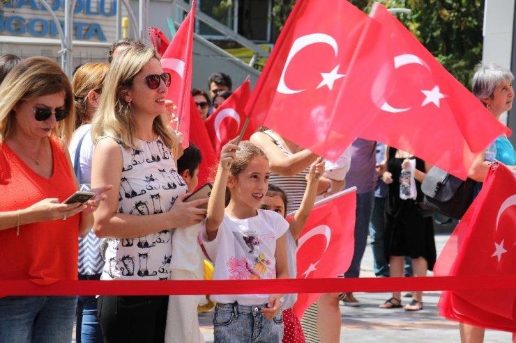Çankaya Belediyesi 30 Ağustos Zafer Bayramı'nı coşkuyla kutluyor