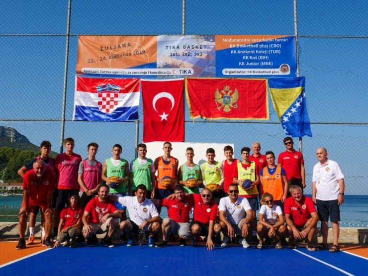 """Hırvatistan'da """"TİKA Basket 2019"""" Dostluk Turnuvası"""